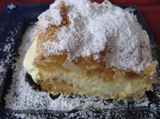 puff pasrty dessert recipe