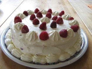 rasberry cake recipe