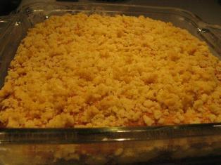 streusel cake yeast recipe