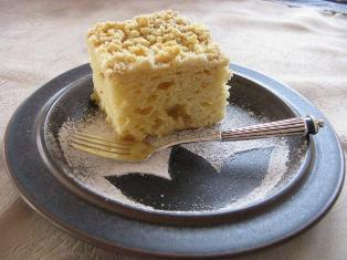 streusel cake yeast